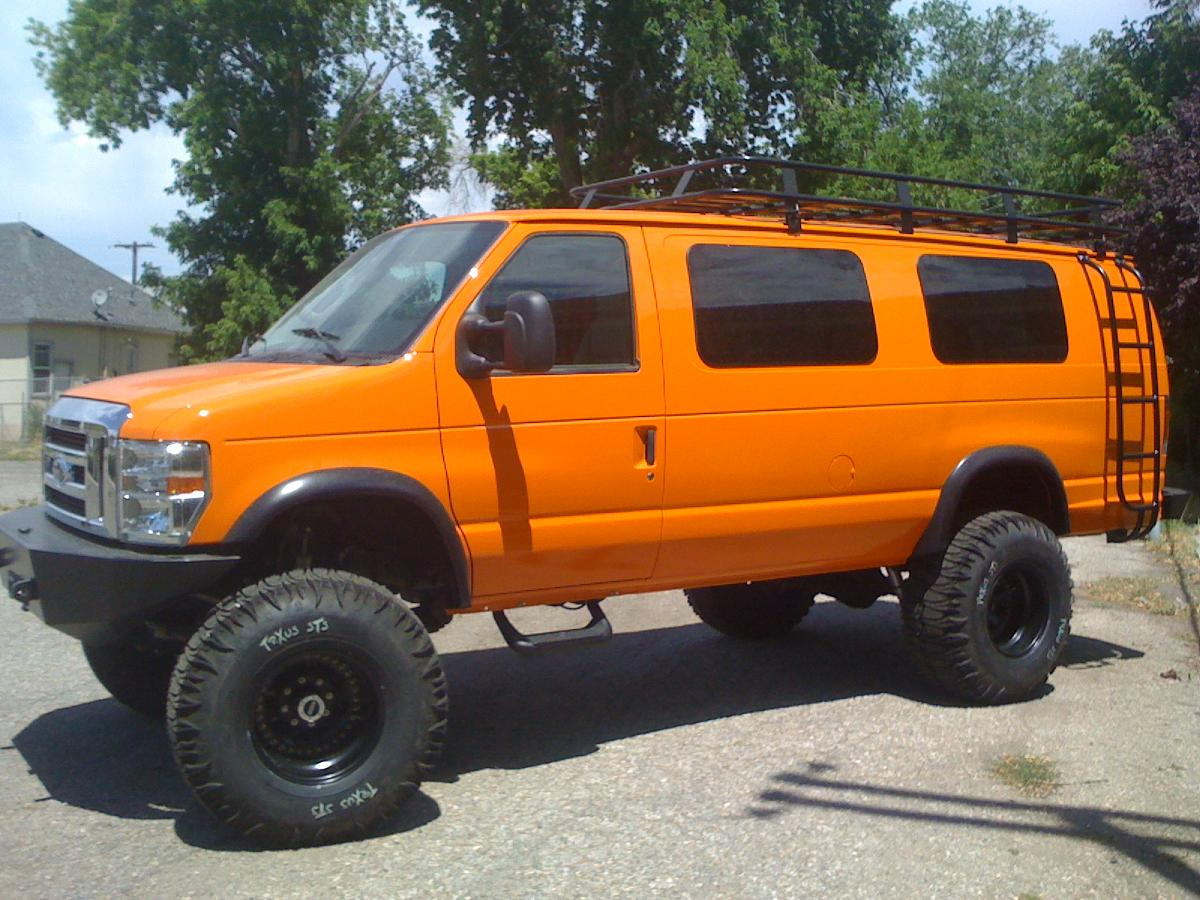 All Wheel Drive Custom Van Autos Post